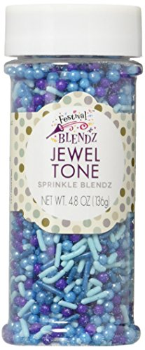 Festival Jewel Tone Sprinkle Blends, 4.8 Ounce