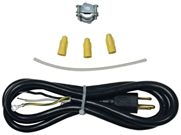 amazon com whirlpool 4317824 dishwasher power cord 4 foot 3 wire Wiring A Plug To Dishwasher whirlpool 4317824 dishwasher power cord 4 foot 3 wire wiring a plug to a dishwasher