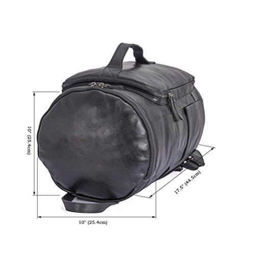 Bag DHFUD Male Wear Bucket Shoulder Backpack Black Bag qZ1Xq