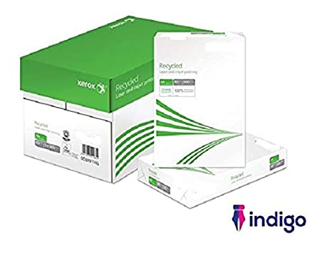 Indigo - Papel para impresora láser multifunción (papel reciclado ...