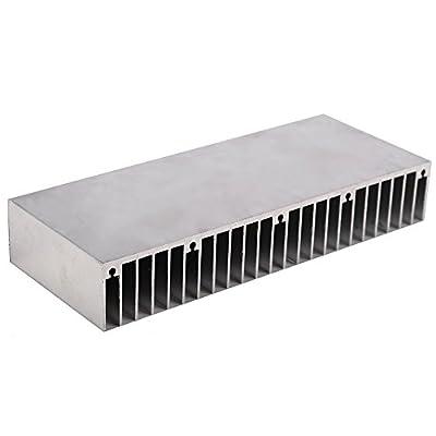 Cooling Module, iBetterLife 60mm(L)x150mm(W)x25mm(H) Large Big Aluminum Heatsink Heat sink Radiator for Led High Power Amplifier Transistor