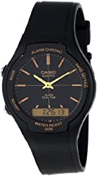 Casio Men's AW90H-7B Sport Multi-Function White Dial Dual Time Watch