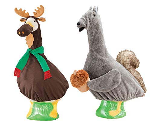 MS HOME Squirrel and Moose Goose Outfit (2 Pieces)