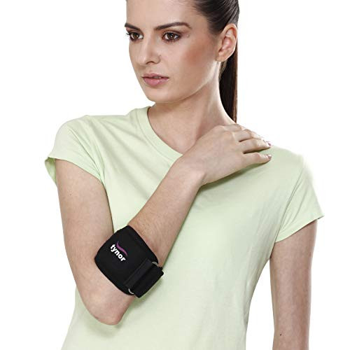 Tynor Tennis Elbow Support Pain Relief,Forearm,Elbow  Medium
