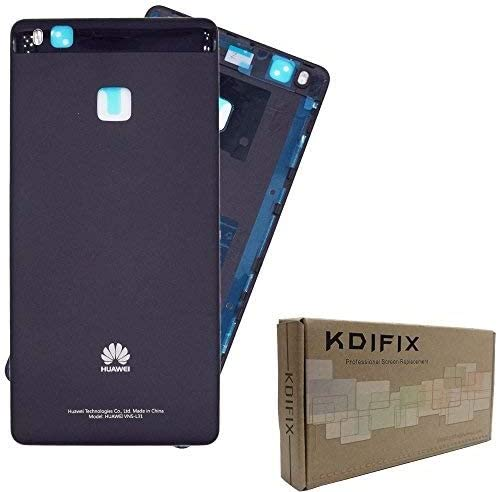 KDIFIX Back Cover Battery Door Housing Case Replacement (for Huawei P9 LITE Black)