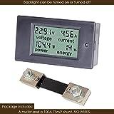 bayite DC 6.5-100V 0-100A LCD Display Digital