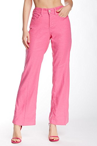 (Wylie Stretch Linen Blend Trouser (Petite),Cactus Flower, 4P (8P))