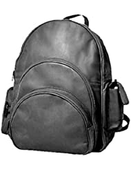 David King & Co. Expandable Computer Backpack, Black, One Size