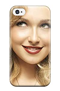 Iphone 4/4s Cover Case - Eco-friendly Packaging(hayden Panettiere )