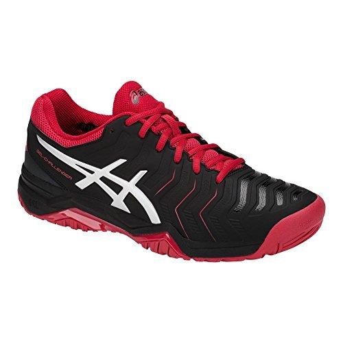 Asics Mens Gel Challenger 11 Tennis Shoes  Black Silver  Size 8 5