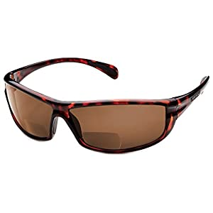 Suncloud King Polarized Bi-Focal Reading Sunglasses in Tortoise w/ Brown Lens +1.75