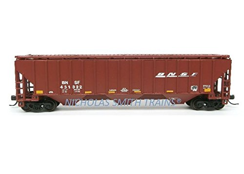 4750 Hopper - Atlas ATL50002803 N Trainman Thrall 4750 Cov Hopper, BNSF #431322