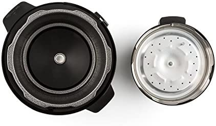 KLARSTEIN Fast Flavour Cocotte-Minute Autocuiseur Multifonctions (5L, 8 programmes et 2 Fonctions, 900 W, Maintien au Chaud Max. 24 h) - Noir