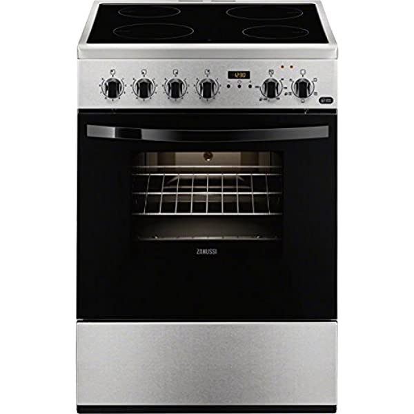 Zanussi ZCV65311XA - Cocina (Integrado, Acero inoxidable ...