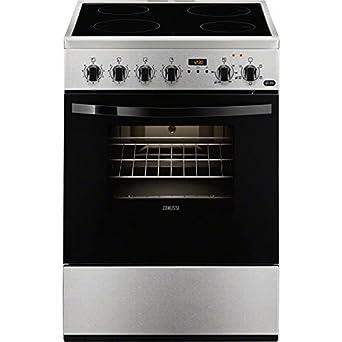 Zanussi ZCV65311XA - Cocina (Integrado, Acero inoxidable, Giratorio, 56L, 1835W,
