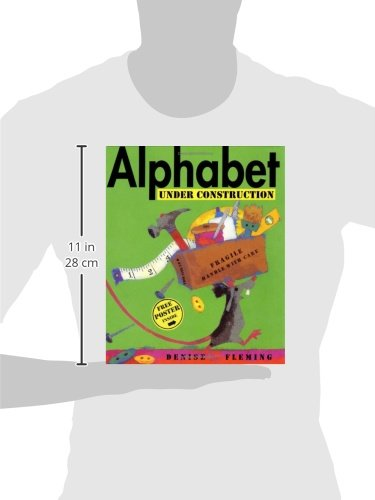 Alphabet Under Construction by Henry Holt and Co. (BYR) (Image #4)