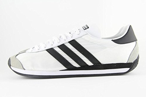 Men's Adidas Originals Country OG Trainers White Black Ny...