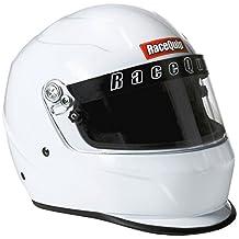 RaceQuip 273115 Gloss White Large PRO15 Full Face Helmet (Snell SA-2015 Rated)