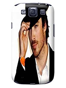 Cool Ian Somerhalder Hot Cell Phone Cover Case for Samsung Galaxy s3 on Sale,TPU fashionable Designed