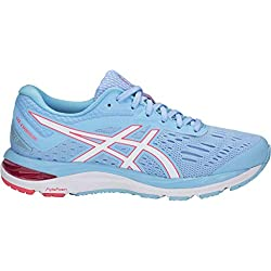 ASICS Women's Gel-Cumulus 20 Running Shoes, 6M, Skylight/White