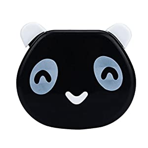 Bestpriceam Candy Color Panda Design Contact Lens Case Box (Black)