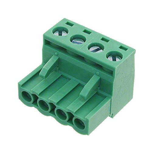 TERM BLOCK PLUG 4POS STR 5MM (Pack of 30) (TJ0471500000G)