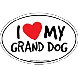 Cheap Prismatix Decal Cat and Dog Magnets, I Heart My Grand Dog