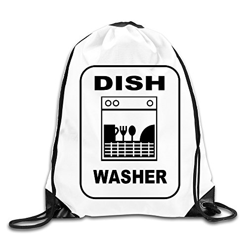 Eronp Dishwasher For The Mom And Housewife Drawstring Backpacks Bags