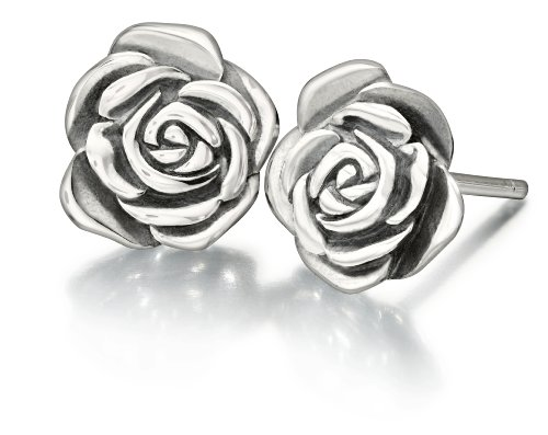 New Authentic Chamilia A Rose is a Rose Earrings 1310-0011, used for sale  Delivered anywhere in USA