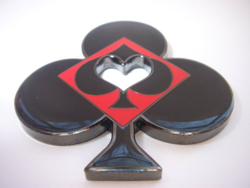 Club Shaped Poker Weight by pokerweights