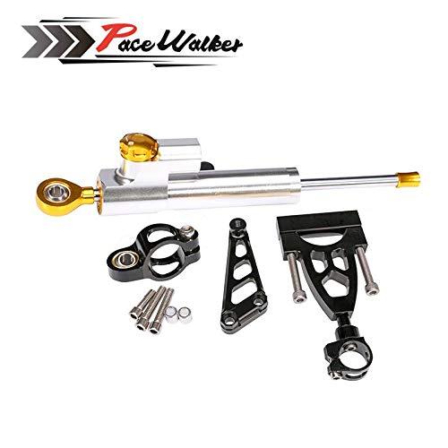 Motorcycle Aluminum CNC Steering Damper Complete Set for HONDA CB400 VTEC 1999-2012 w/bracket kits