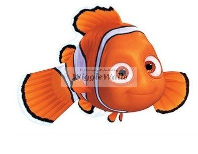 4 Inch Clownfish Clown Fish Finding Dory Nemo 2 Movie Removable Peel Self Stick Adhesive Vinyl Decorative Wall Decal Sticker Art Kids Room Home Decor Boys Children Nursery Baby 4x3 inches