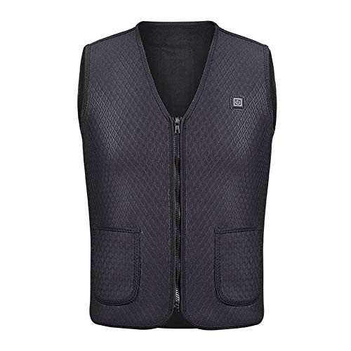 CTlite Electric Heated Vest, Unisex USB Charging Heating Vest Body Warmer for Winter Outdoor Sports Skiing Hunting Golf Travel Hiking ()