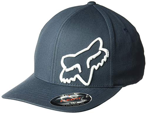 Fox Men's Flex 45 Flexfit HAT, Navy, 2X
