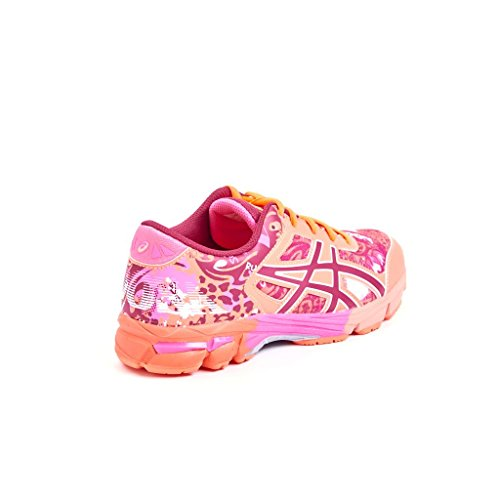 Junior Zapatillass GEL-NOOSA TRI 11 GS SAFETY YELLOW / GREEN GECKO / ELECTRIC BLUE 16/17 Asics hot pink-cerise-coral