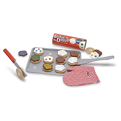 Wooden Cookie Play Food Set