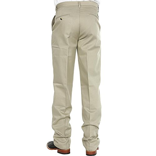Wrangler Tall Mens Riata Western Flat Front Pant, Khaki, 32x36