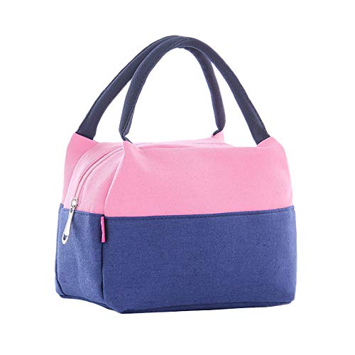 (Nstcher Haute qualité !! Portable Insulated Thermal Cooler Lunch Box Picnic Case Carry Tote Storage Bag)