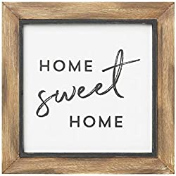 Collins Painting Rustic Layered Wood-Framed Sign (Home Sweet Home)