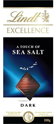 Lindt - Excellence - Dark with a Touch of Sea Salt - 100g