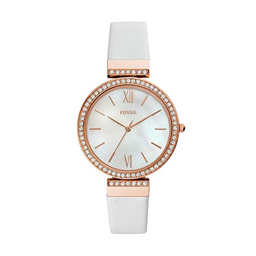 Fossil Women's Madeline - ES4581 White One Size - Fossil White Mother Of Pearl