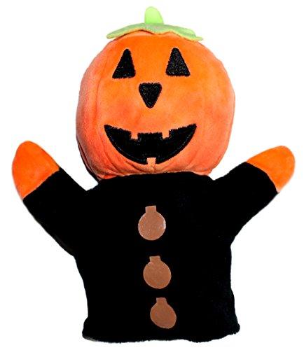 Lucore Halloween Jack O Lantern Pumpkin Hand Puppet - 8