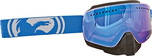 Dragon Alliance Unisex Blue/White Split NFXS Snowmobile Goggles Eyewear, Blue Steel, One Size by Dragon Alliance