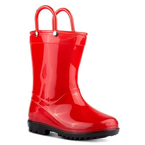 ZOOGS Children's Rain Boots with Handles, Little Kids & Toddlers, Boys & Girls