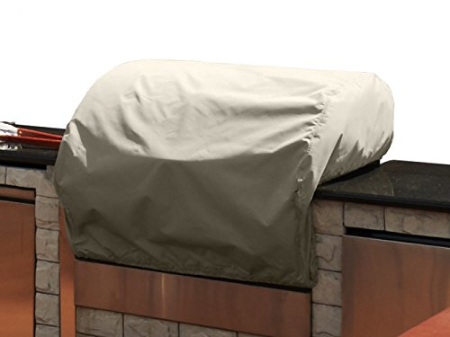 CoverMates – Built–In Grill Cover – 34W x 30D x 18H – Elite Collection – 3 YR Warranty – Year Around Protection - - Covers Smoker Covermates