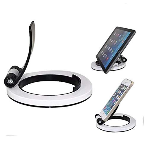 Fragil Tox Soup Spoon Universal 160° Rotating Desk Stand Holder for Smartphones Tablet PDA Multi Medium Medium