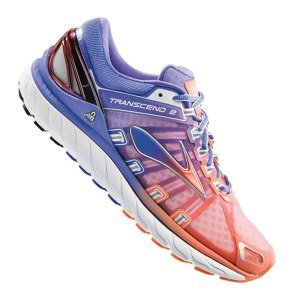 Brooks Transcend 2 Damen Laufschuhe orange - violett