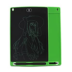 LCD Writing Tablet 8.5 Inch Doodle Pad Portable Electronic Writer Environmental Writing and Drawing Memo Board with Stylus Gift for Kids adults (Green)