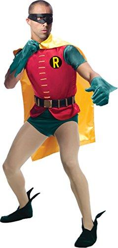 1960s Batman Costume (Grand Heritage Robin Adult Costume - Standard)