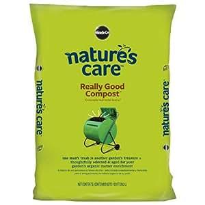 Scotts–Fertilizante para Cultivo de medios de comunicación 70951120atención de la naturaleza jardín Compost, 1-cu. FT.